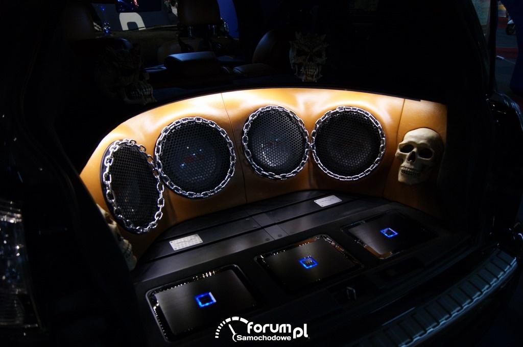 Targi AutoSalon, bass i tuning