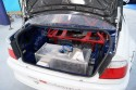 BMW drift, zbiornik paliwa w bagażniku