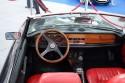 Fiat 124 Sport Spider 1800 Kabriolet, wnętrze