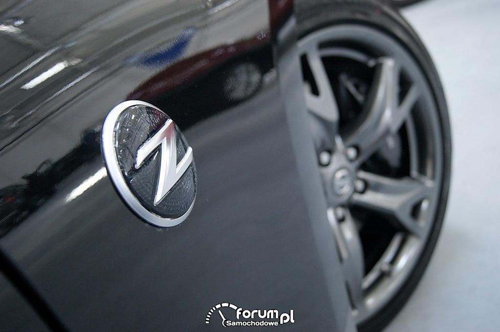 Nissan 370Z, logo