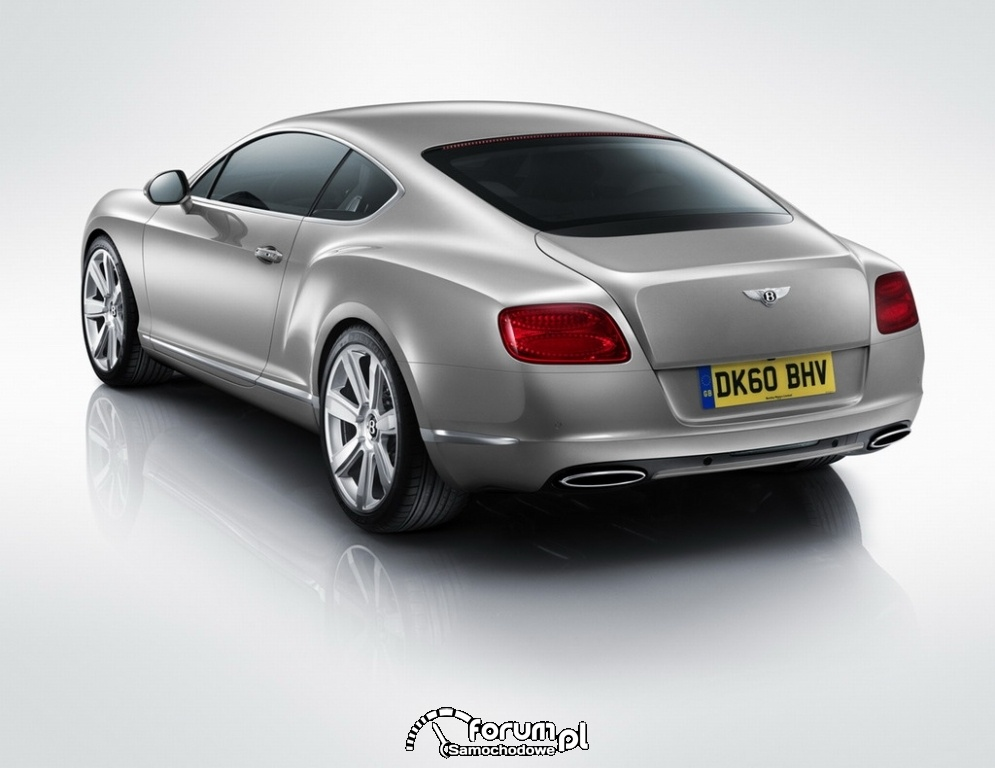 Bentley Continental GT coupe - tył - 2011