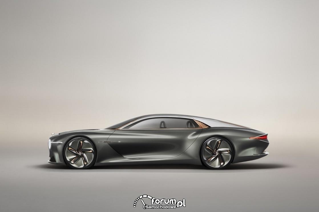 Bentley EXP 100 GT, bok