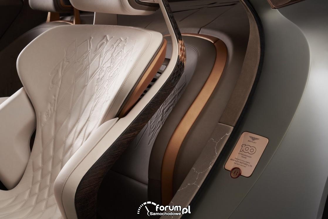 Bentley EXP 100 GT, detale