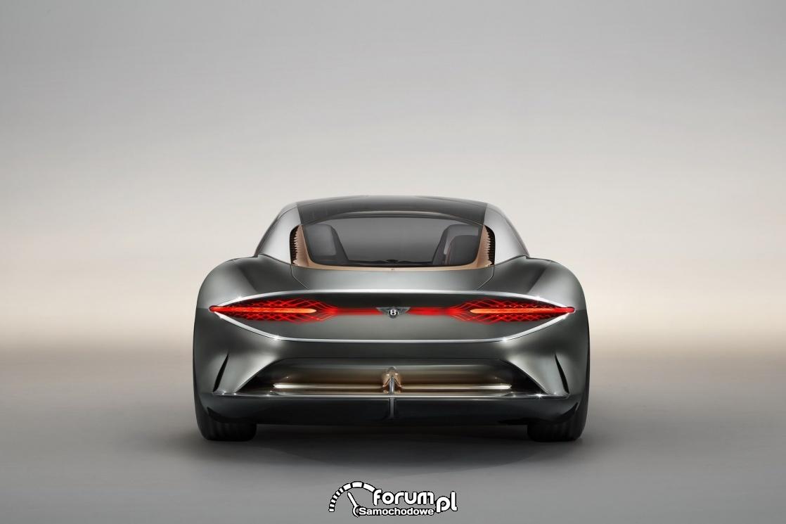 Bentley EXP 100 GT, tył