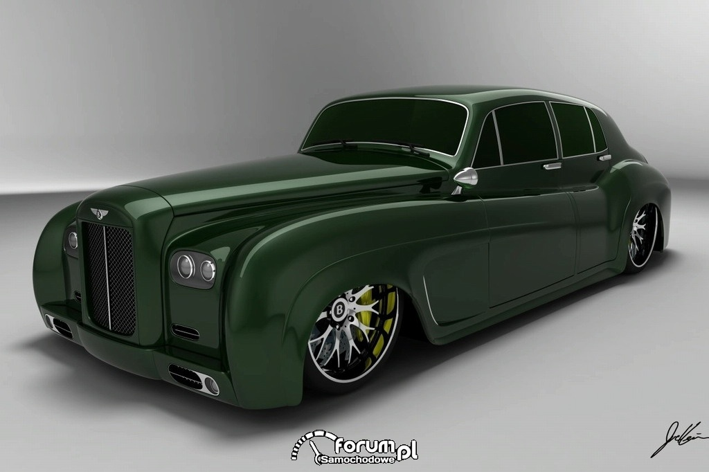 Bentley S3 e-design concept