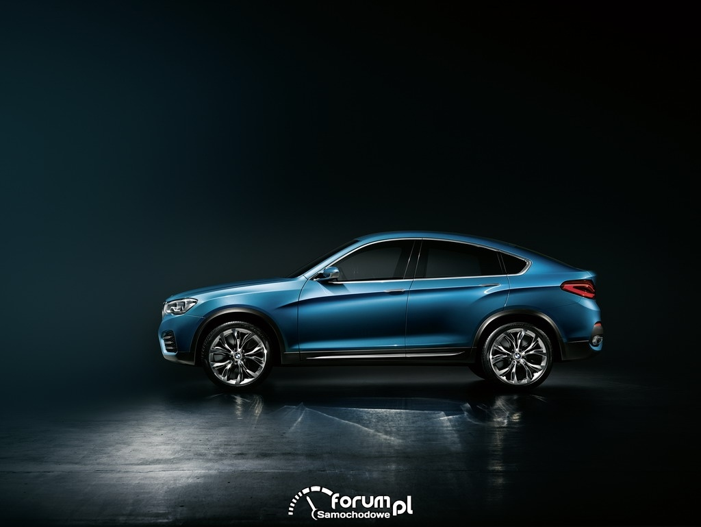 BMW Concept X4, Sports Activity Coupe, bok