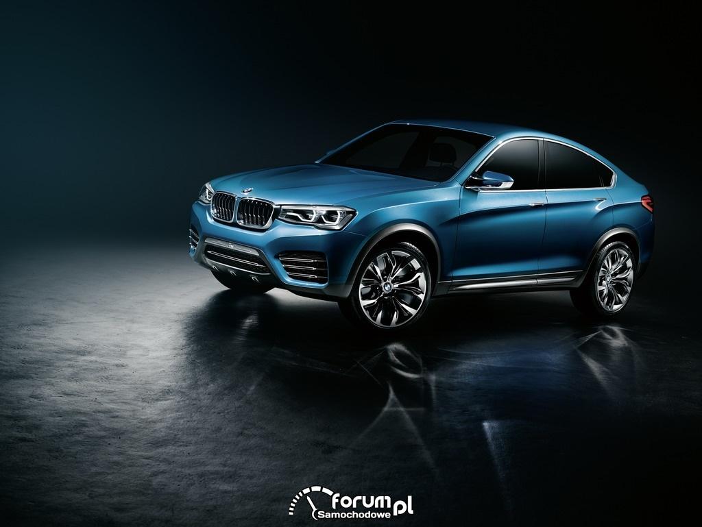 BMW Concept X4, Sports Activity Coupe