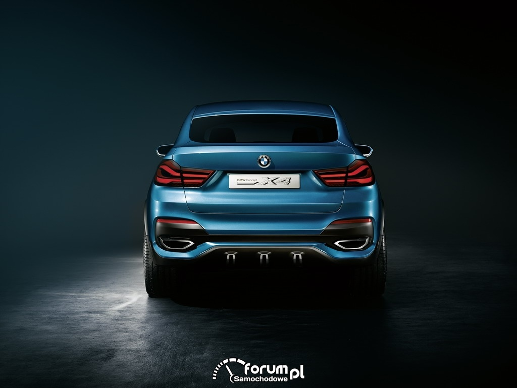 BMW Concept X4, Sports Activity Coupe, tył