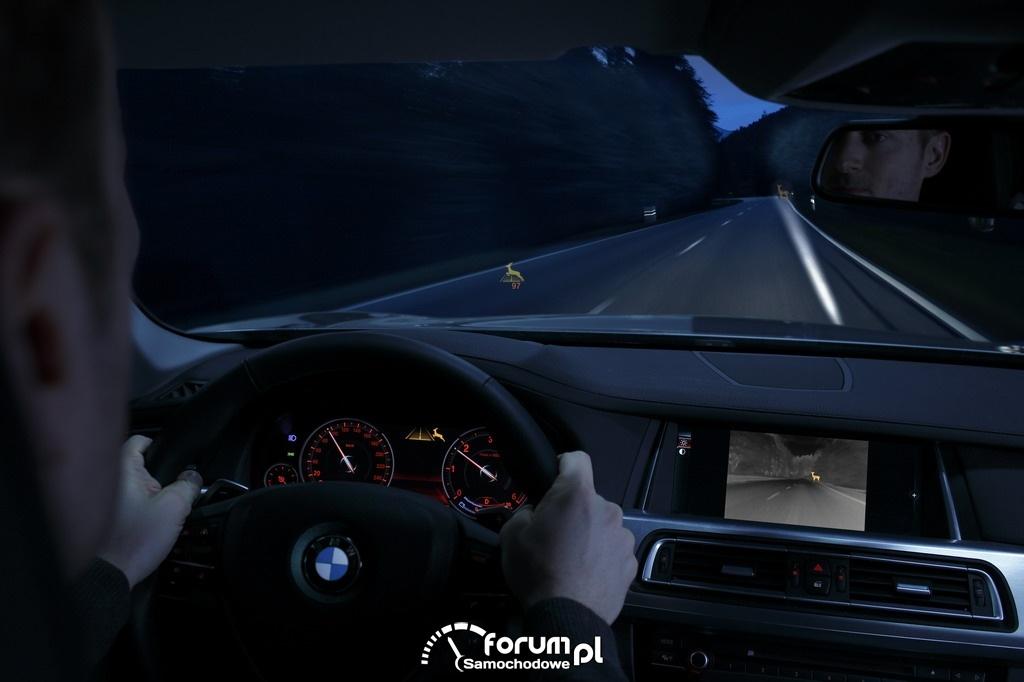 BMW Connected Drive - Night Vision, dynamiczne oświetlenie punktowe