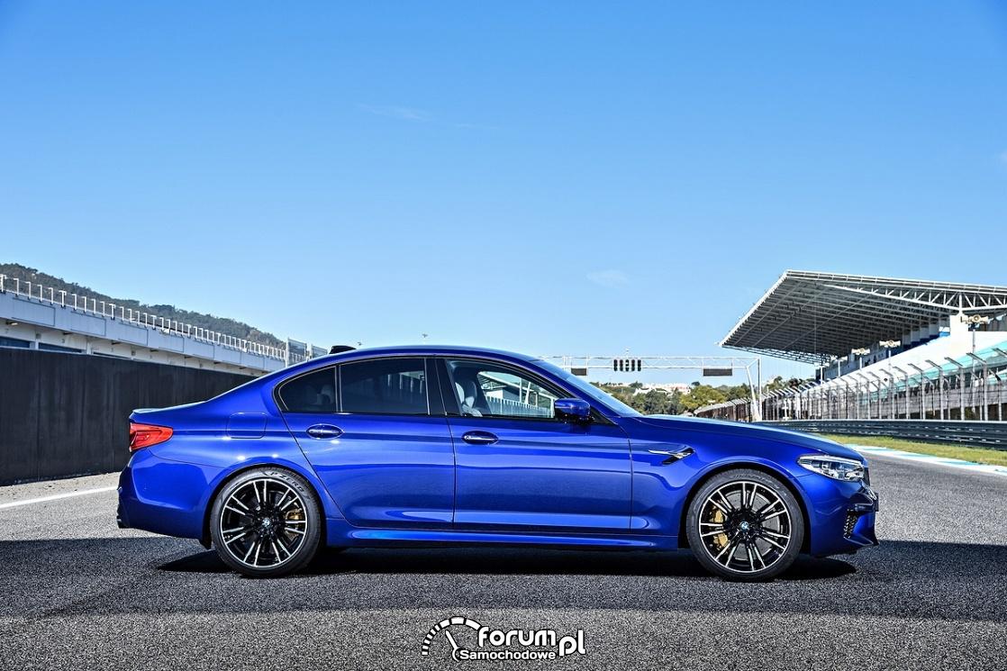 BMW M5, opony Pirelli P ZERO