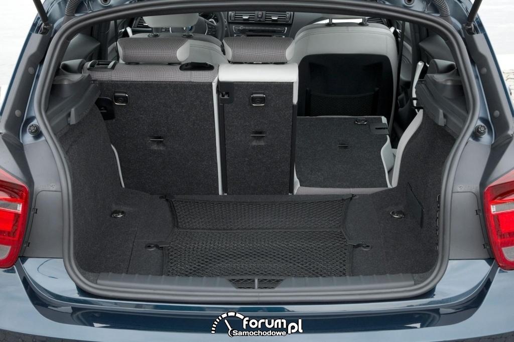 BMW Seria 1 - bagażnik