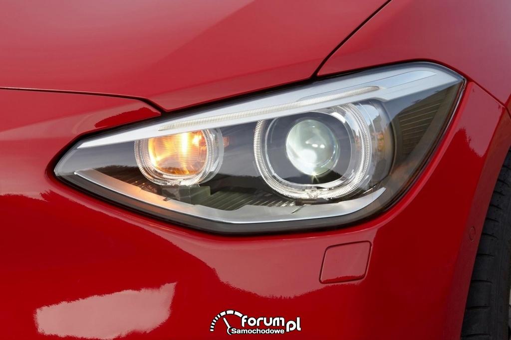 BMW Seria 1 - przedni leflektor