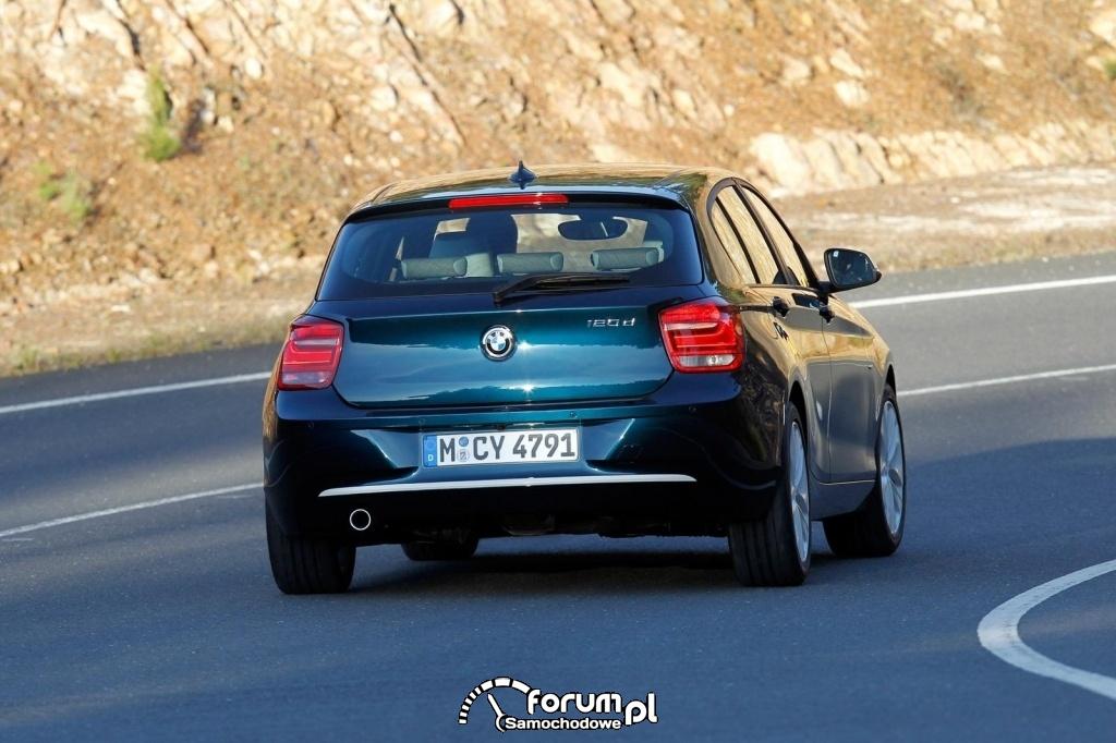 BMW Seria 1 - tył