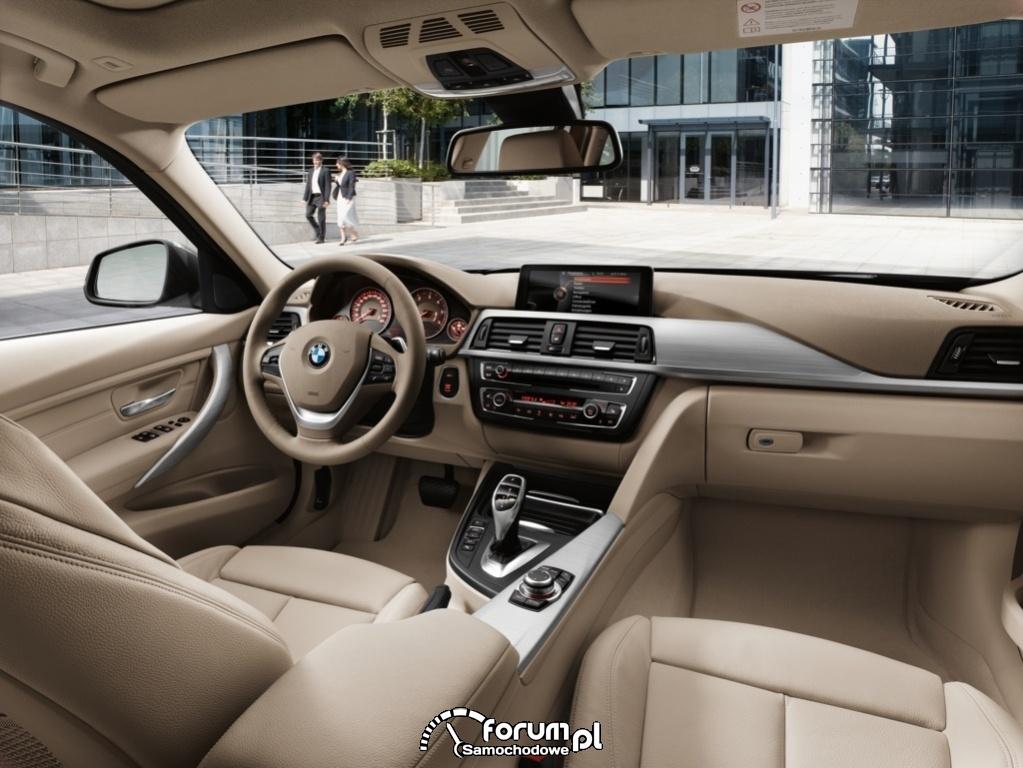 BMW serii 3 Touring 2012, wnętrze, 6