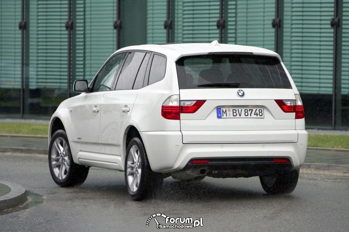 BMW X3 E83, tył