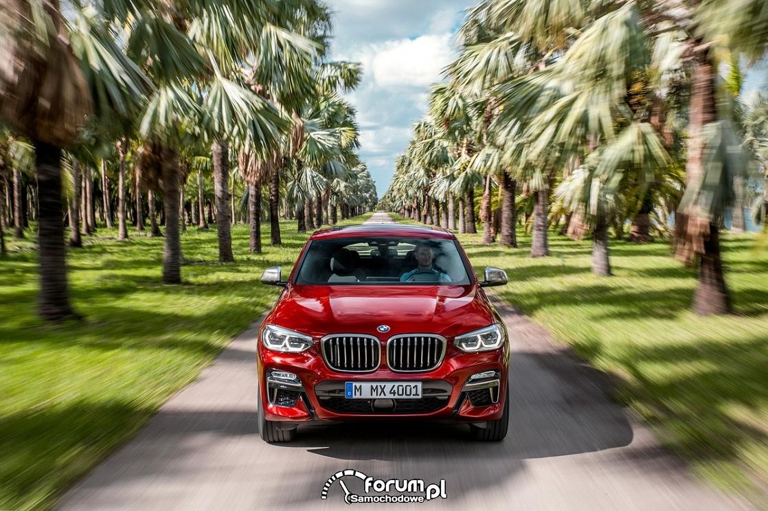 BMW X4 M40d, przód
