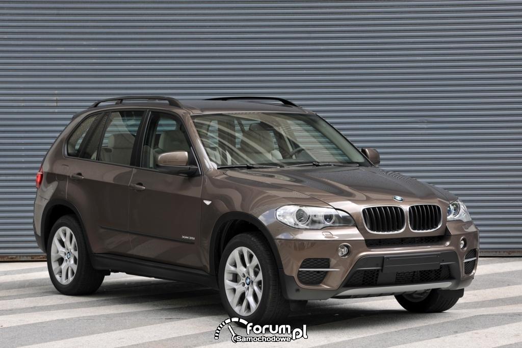 BMW X5 35i xDrive - widok z przodu