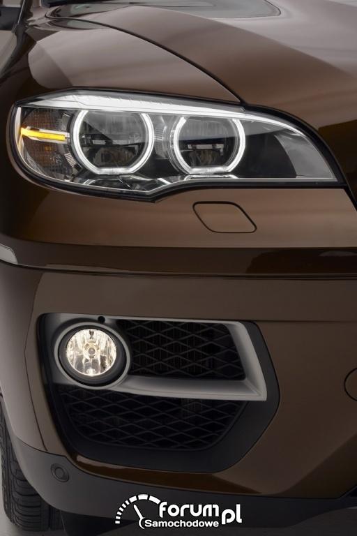 BMW X6 - adaptacyjne reflektory LED, 2