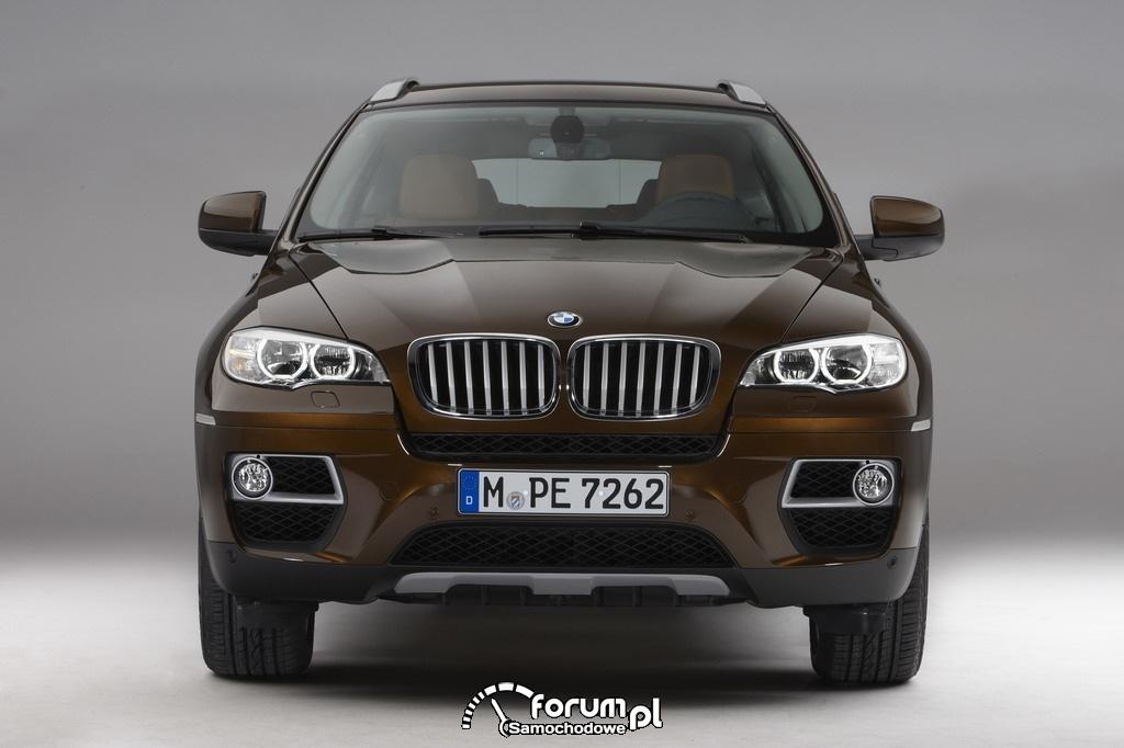 BMW X6 - widok z przodu