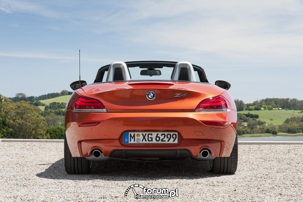 BMW Z4 roadster, tył