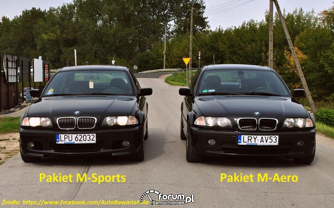 M-pakiet BMW e46 - różnice AutoBawaria