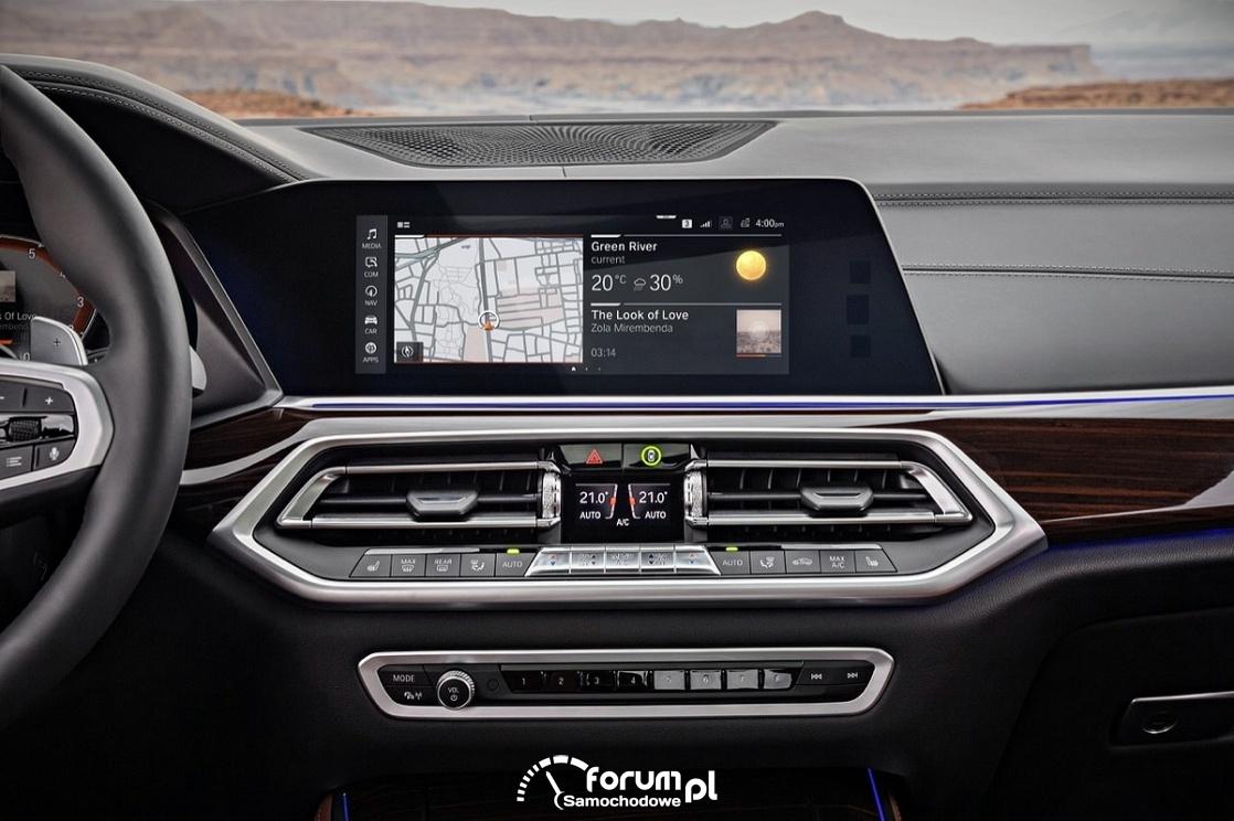System multimedialny BMW
