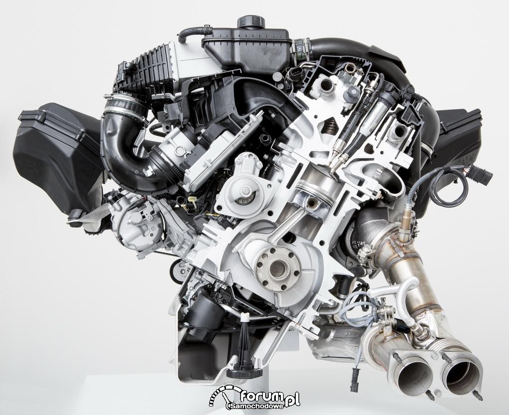 Sześciocylindrowy silnik rzędowy BMW M TwinPower Turbo, 430KM i 500Nm