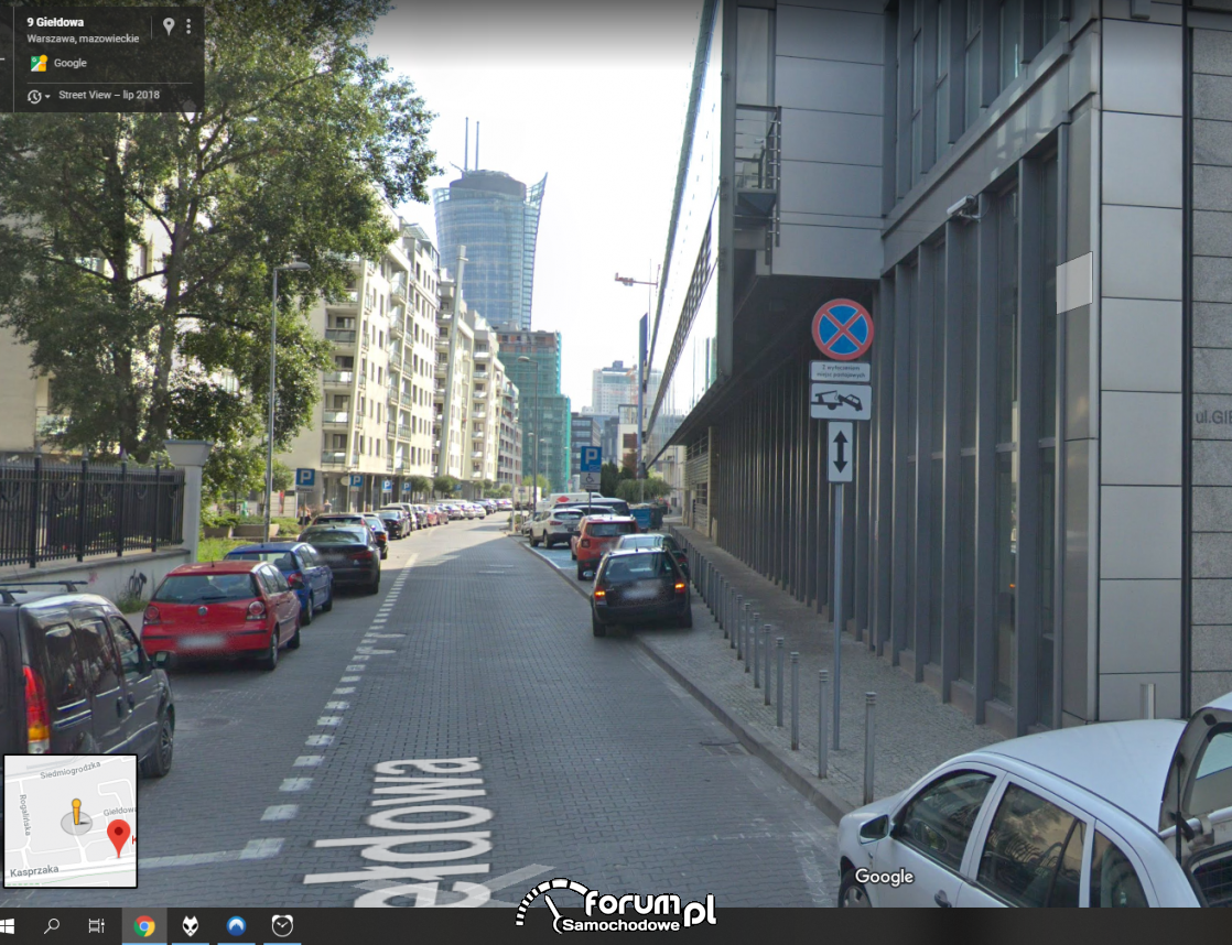 Mandat za parkowanie za znakiem zakazu zatrzymywania czy słusznie ?