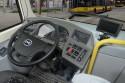 Autobus elektryczny  BYD K9 MZA, deska rozdzielcza i kierownica
