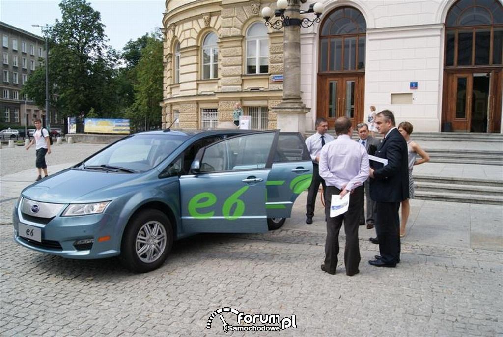 BYD e6, Politechnika Warszawska, 2
