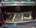 Car audio, video 2007, wzmacniacze w bagażniku