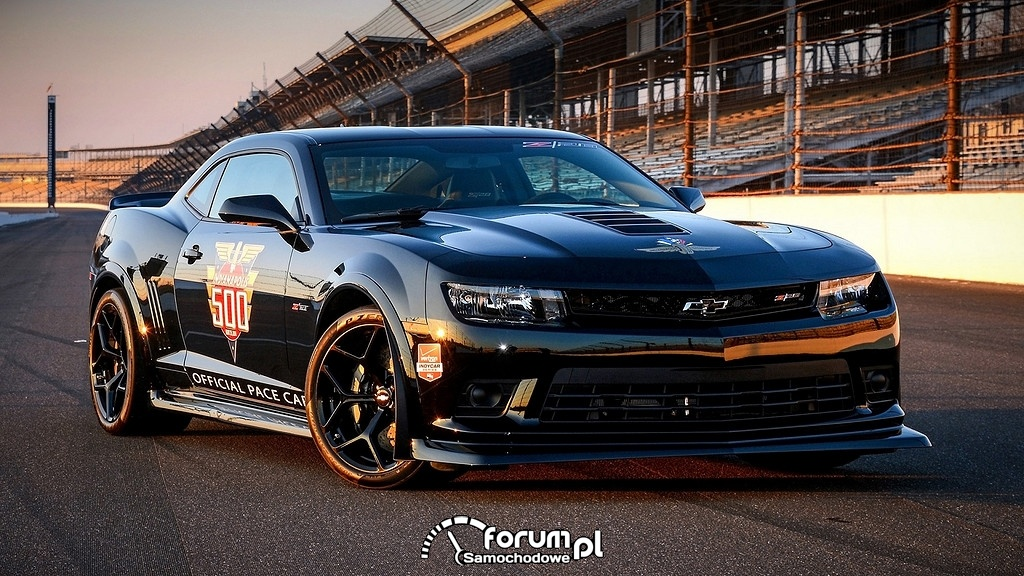 Chevrolet Camaro, official pace car