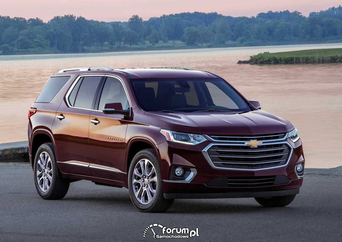 Chevrolet Traverse, 2018