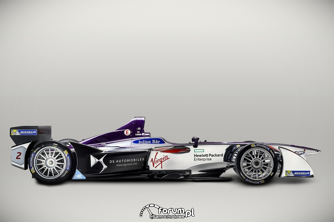 Bolid DSV-01, DS Virgin Racing, bok