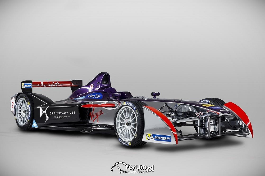 Bolid DSV-01, DS Virgin Racing, przód