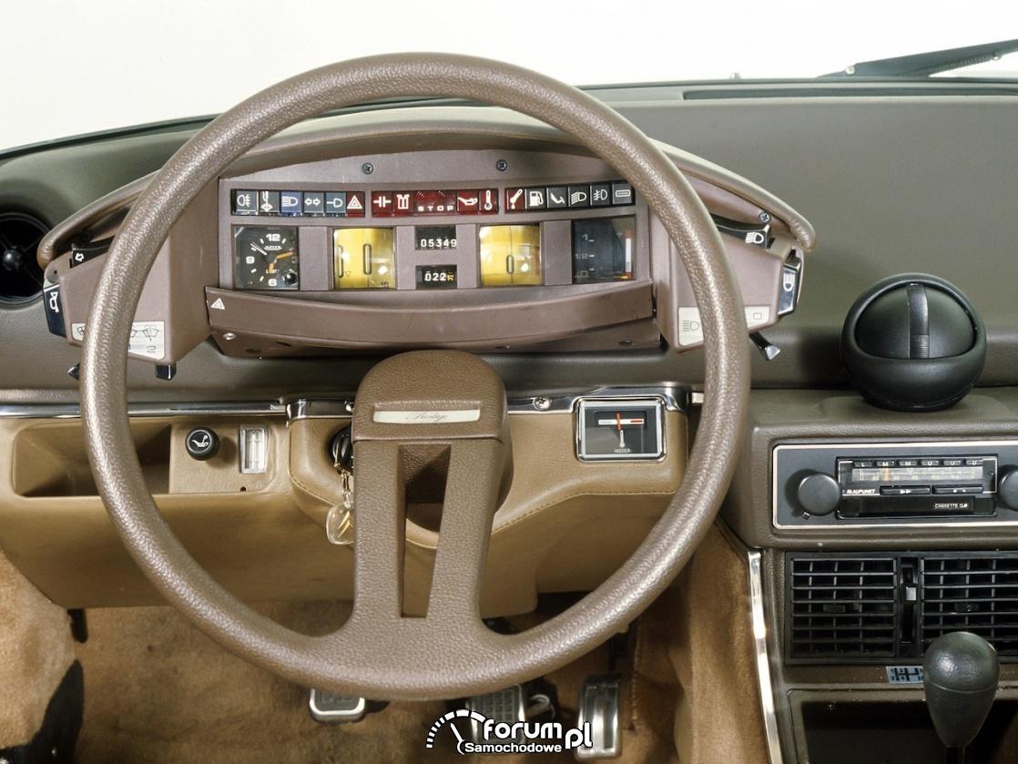 Citroen CX - zegary