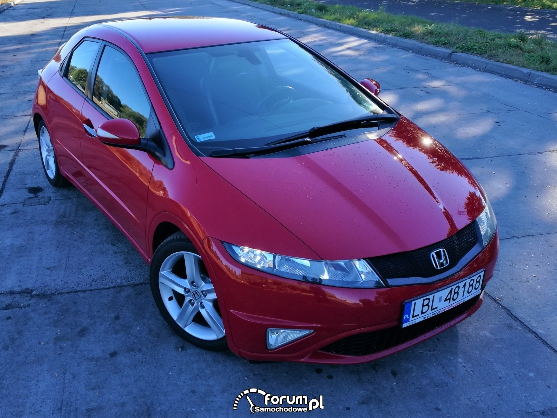 Civic VIII 5d felgi Type S