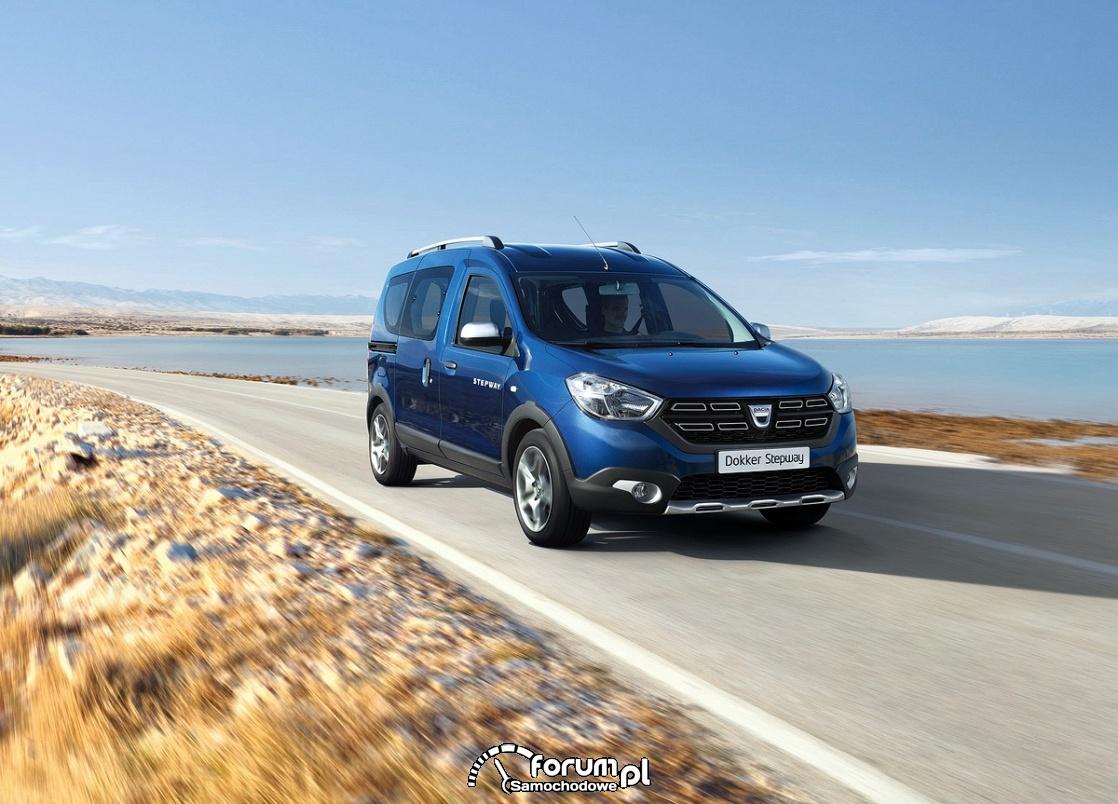 Dacia Dokker - auto do pracy