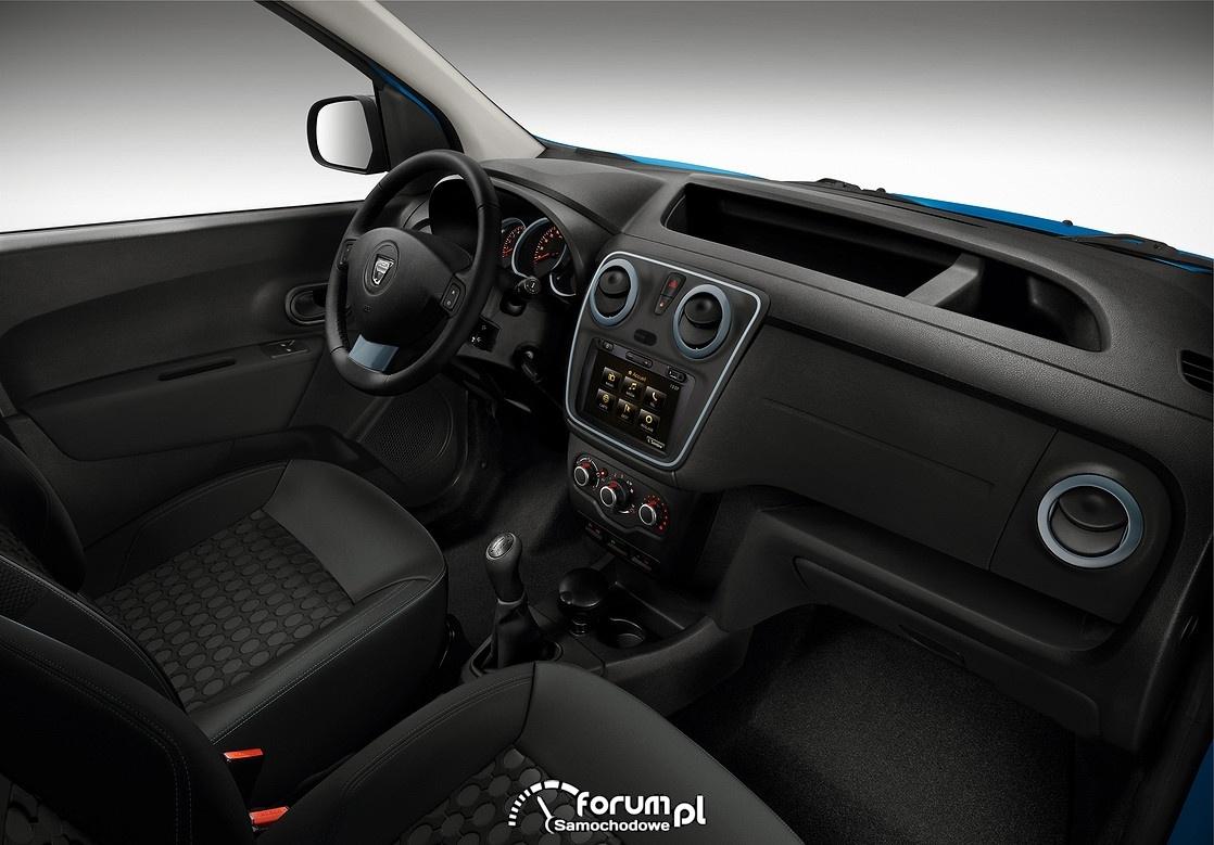 Dacia Dokker Stepway, wnętrze