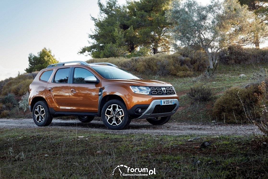dacia duster 4x2 atacama orange colour 2018 zdj cie galeria dacia. Black Bedroom Furniture Sets. Home Design Ideas