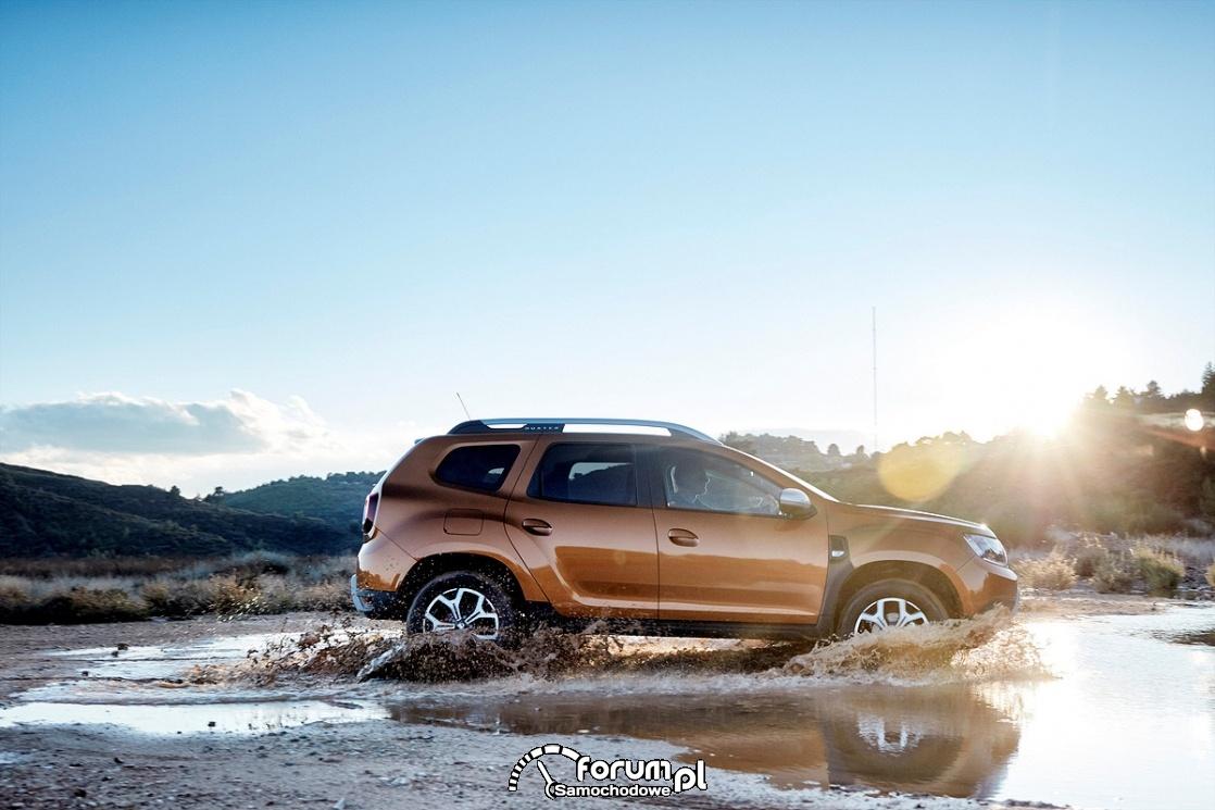 Dacia Duster 2018 - komfort i terenowe właściwości