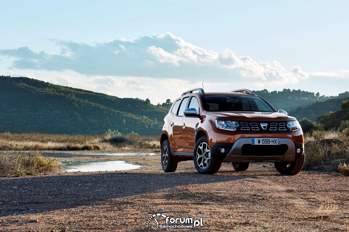 Dacia Duster, przód