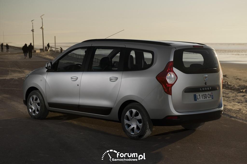 Dacia Lodgy, bok