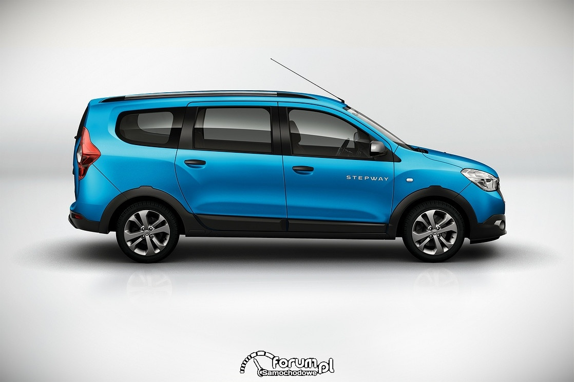 Dacia Lodgy Stepway, bok