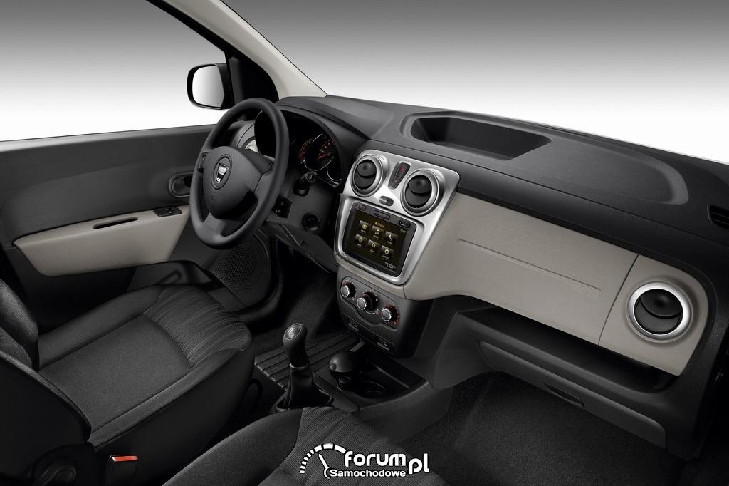 Dacia Lodgy, wnętrze