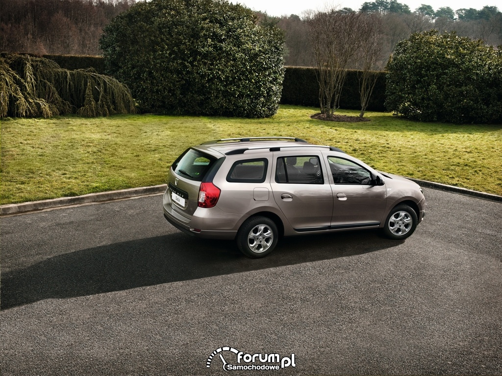 Dacia Logan MCV, bok, 2013