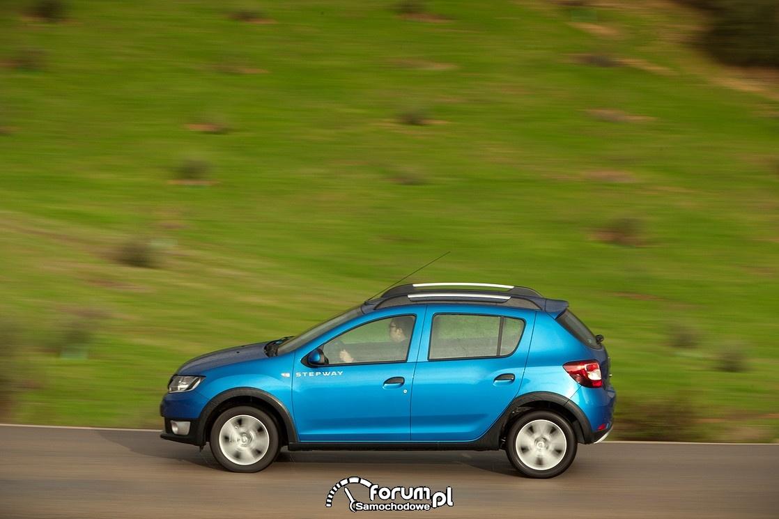 Dacia Sandero Stepway, bok