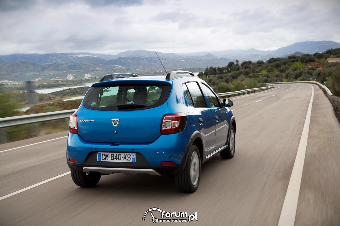 Dacia Sandero Stepway, tył