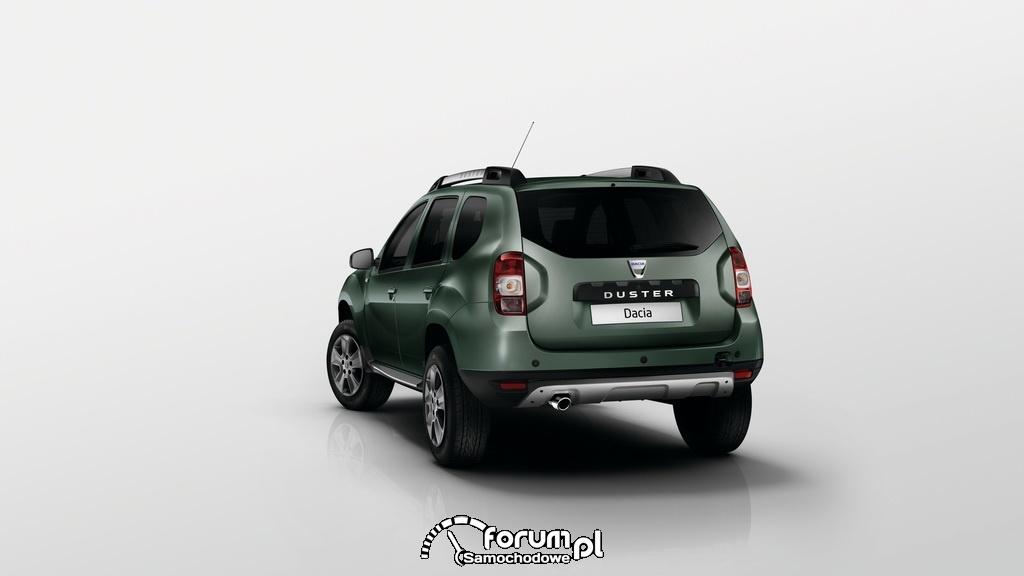 Nowa Dacia Duster, tył