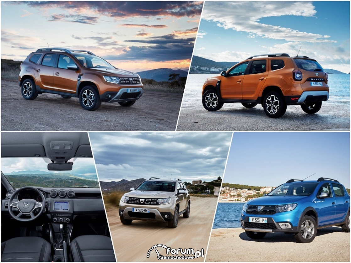 Samochody marki Dacia